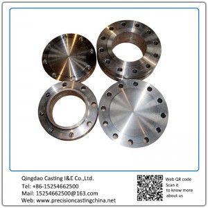 Customized Stainless Steel Machined Flange Resin Coated Sand Casting