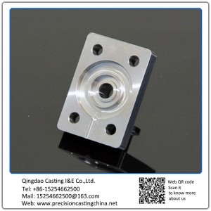 Customized Stainless steel machined part mirror polishing