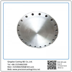 Customized Stainless Steel Machining Flange