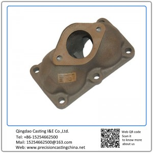 Customized Casting Iron Spare Parts Pipe Connections