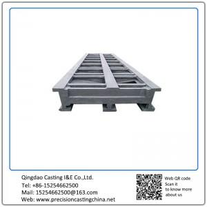 Customized Clay Sand Casting Machine Basement Ductile Iron