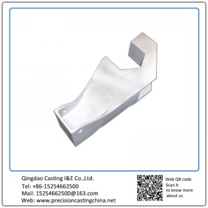 Customized Clay Sand Casting Mild Steel Automotive Support Frame
