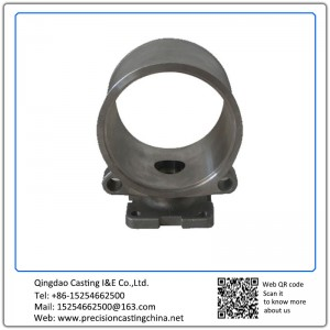 Customized Clay Sand Casting Pipe Fixing Basement Grey Iron