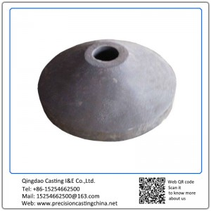Customized Cone for Stone Crusher High Manganese Steel Resin Sand Casting 300-500 kg