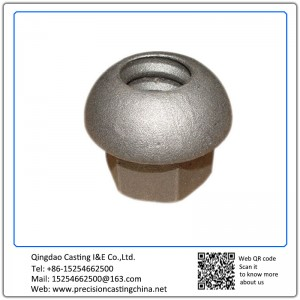 Customized Construction Machine Parts Ductile Iron Silica Sol Lost Wax Investment Casting