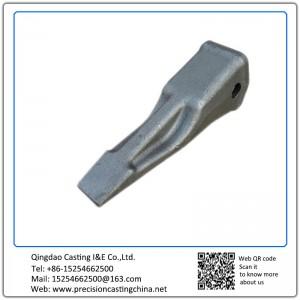 Customized Constrution Machine High Mangaenese Steel  Excavator Bucket Teeth Lost Foam Casting Process