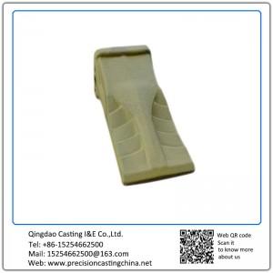 Customized Constrution Machine High Mangaenese Steel  Excavator Bucket Teeth Resin Coated Sand Casting
