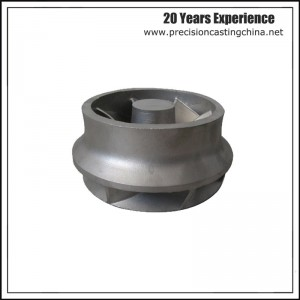 OEM Heavy Duty Impeller Clay Sand Casting Ductile Iron