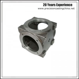 OEM Machining Alloy Steel Cylinder Shell Resin Sand Casting