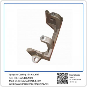 Customized Ductile Iron Components of Forklift Resin Sand Casting