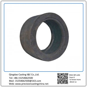 Customized Ductile Iron Lining Plate Ore Crushers Resin Sand Casting