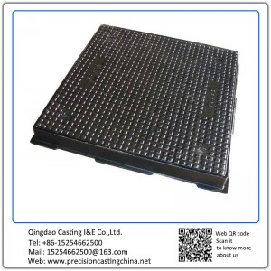 Customized Ductile Iron Manhole Cover Clay Sand Casting