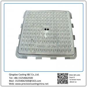 Customized Ductile Iron Manhole Cover Resin Sand Casting
