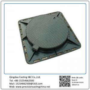 Customized Ductile Iron Manhole Cover Resin-bonded Sand Casting