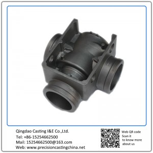 Customized Ductile Iron Resin Sand Casting Valve Housing Body Part