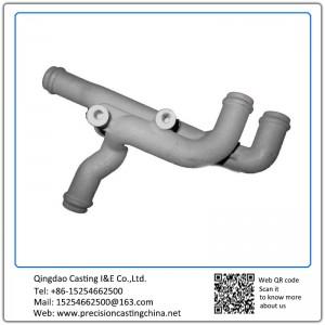 Customized Engine Manifold Ductile Iron Resin Sand Casting