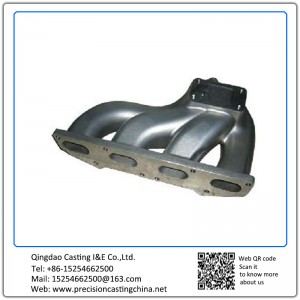 Customized Exhaust Manifold Mild Steel Clay Sand Casting