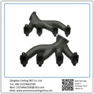 Customized Exhaust Pipe Ductile Iron Silica Sol Lost Wax Investment Casting