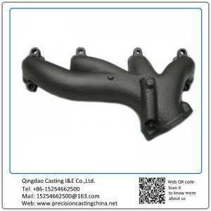Customized Exhaust Pipe Grey Iron Investment Casting