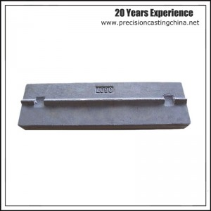 Plate Hammer Japanese Crusher Part High Chrome Resin Sand Casting
