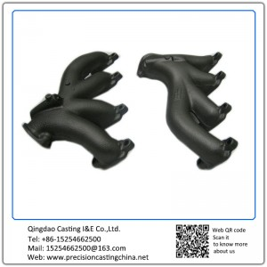 Customized Exhaust Pipe Mild Steel Shell Mould Casting