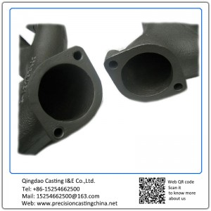 Customized Exhaust Pipe Stainless Steel Solid Investment Casting