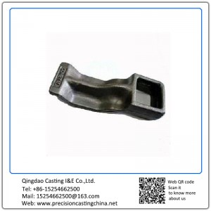 Customized Forged Plate Ductile Iron Truck Parts Resin Sand Casting