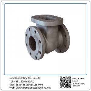 Customized Gate Valve Malleable Iron with Flange Clay Sand Casting
