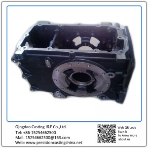 Customized Gear Box Housing Resin Sand Casting Ductile Iron
