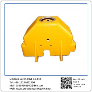 Customized Generator Crankcase Alloy Steel Resin Sand Casting