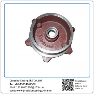 Customized Gray Iron Sand Casting Pump Spare Parts