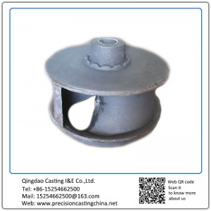 Customized Grey Iron Oil Machine Impeller Resin Sand Casting