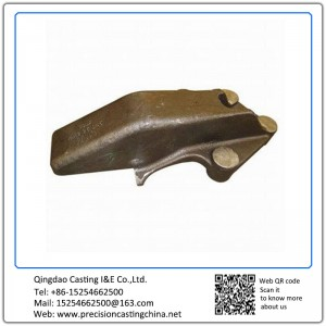 Customized Grey Iron Resin Sand Casting Engineering Machinery Parts