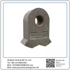 Customized Hammer Head OEM Heat Resistant steel Resin Sand Casting 300kg