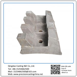 Customized Hammering Edge OEM Crusher Resin Sand Casting 80kg