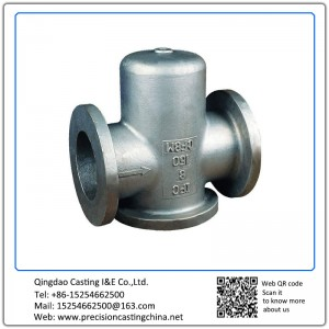 Customized Heavy Duty Valve Body Ductile Iron Resin Sand Casting