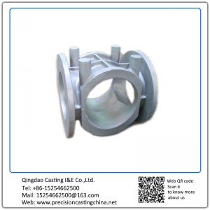Customized Heavy Duty Valve Shell Resin Sand Casting Ductile Iron