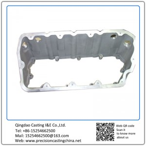 Customized Heavy Truck  Valve Cover Carbon Steel Resin Sand Casting