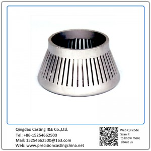 Customized High Manganese Steel Crusher Cone Resin Coated Sand Casting