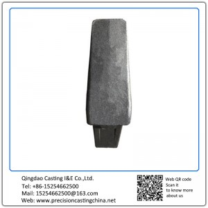 Customized High Manganese Steel Engineering Machinery Spare Parts Resin-bonded Sand Casting