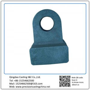 Customized High Manganese Steel Hammer Resin Sand Casting