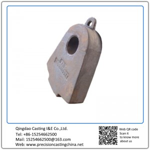 Customized High Manganese Steel Resin Sand Casting Hammer Crusher Spare Parts Weight 150kg