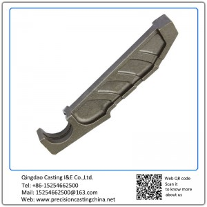 Customized High Manganese Steel Resin-bonded Sand Casting Automotive Support Frame
