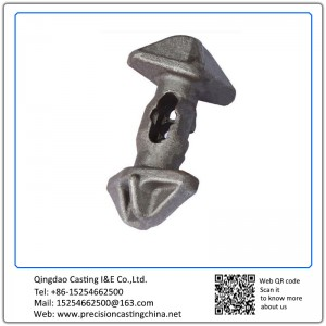 Customized High Manganese Steel Suspension Spare Parts Resin Coated Sand Casting Ships Fittings
