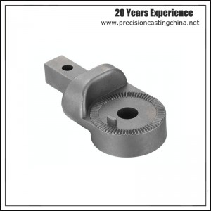 Ratchet Lock Malleable Iron Resin Sand Casting Truck Parts