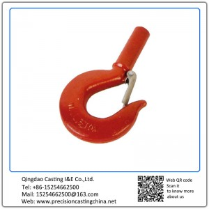 Customized Hook Alloy Steel Resin Sand Casting