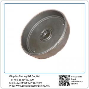 Customized Iron casting disc Vehicle Parts Spherical Graphite Cast Iron