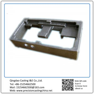 Customized Iron resin sand casting machine parts