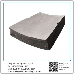 Customized Lining Plate Cement Factory Magotteaux alloy steel casting cement mill roller shell