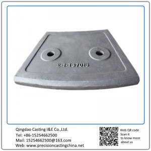 Customized Lining Plate Magotteaux alloy steel casting cement mill liner plate